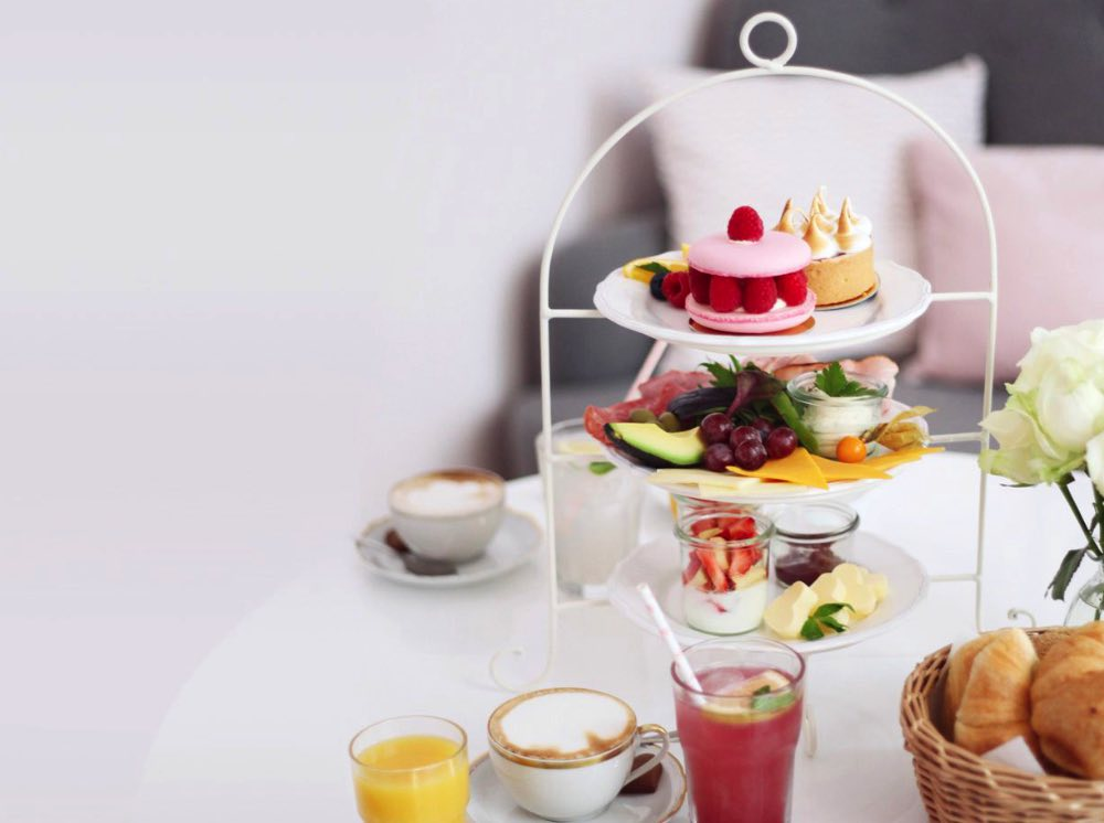 Frühstück Etagere Katharina die Große