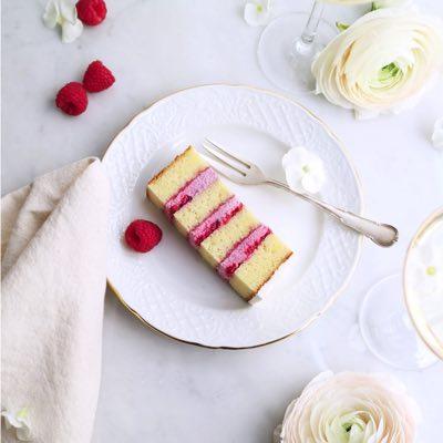 Himbeere Weiße Schokolade Torte