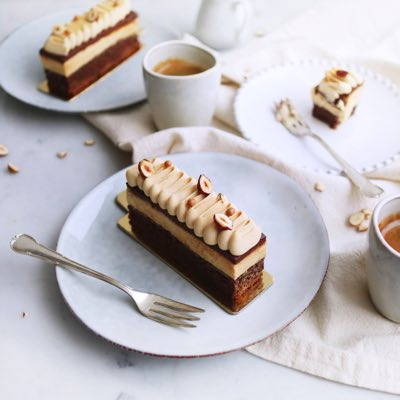 Brownie Cheesecake Baileys Schnitte