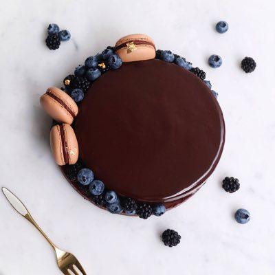 Schokoladen Mousse Tarte