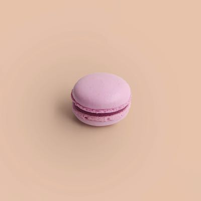 Cassis Champagner Macaron