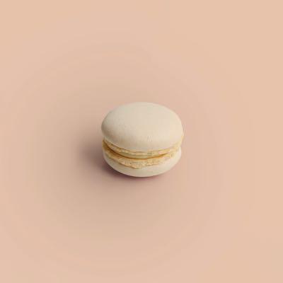 Karamell Fleur De Sel Macaron