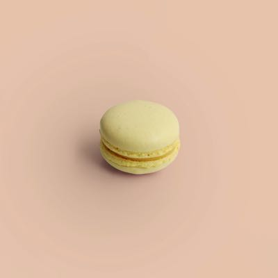 Passionsfrucht Macaron
