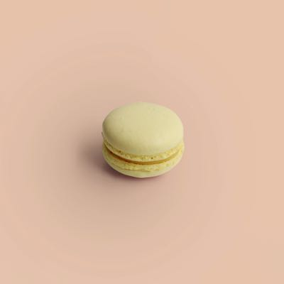Limonen Macaron