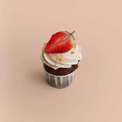 Cupcake Erdnussbutter