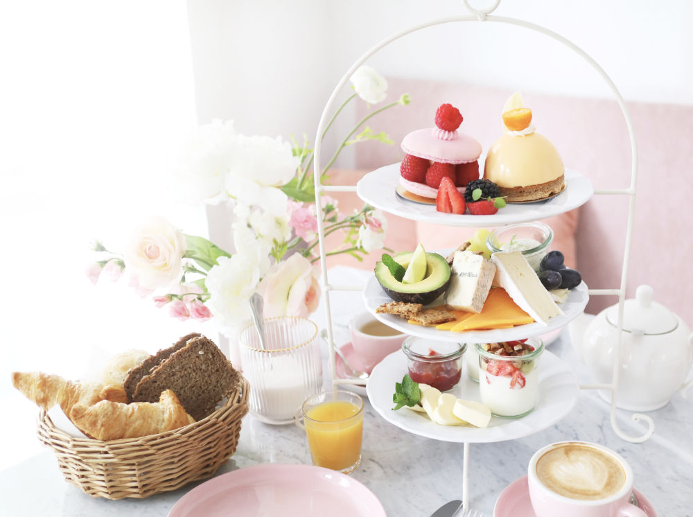 Katharina die Große vegetarisches Frühstück im Café Zuckermonarchie